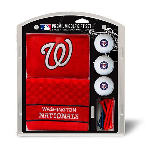 Team Golf Washington Nationals Embroidered Towel Gift Set