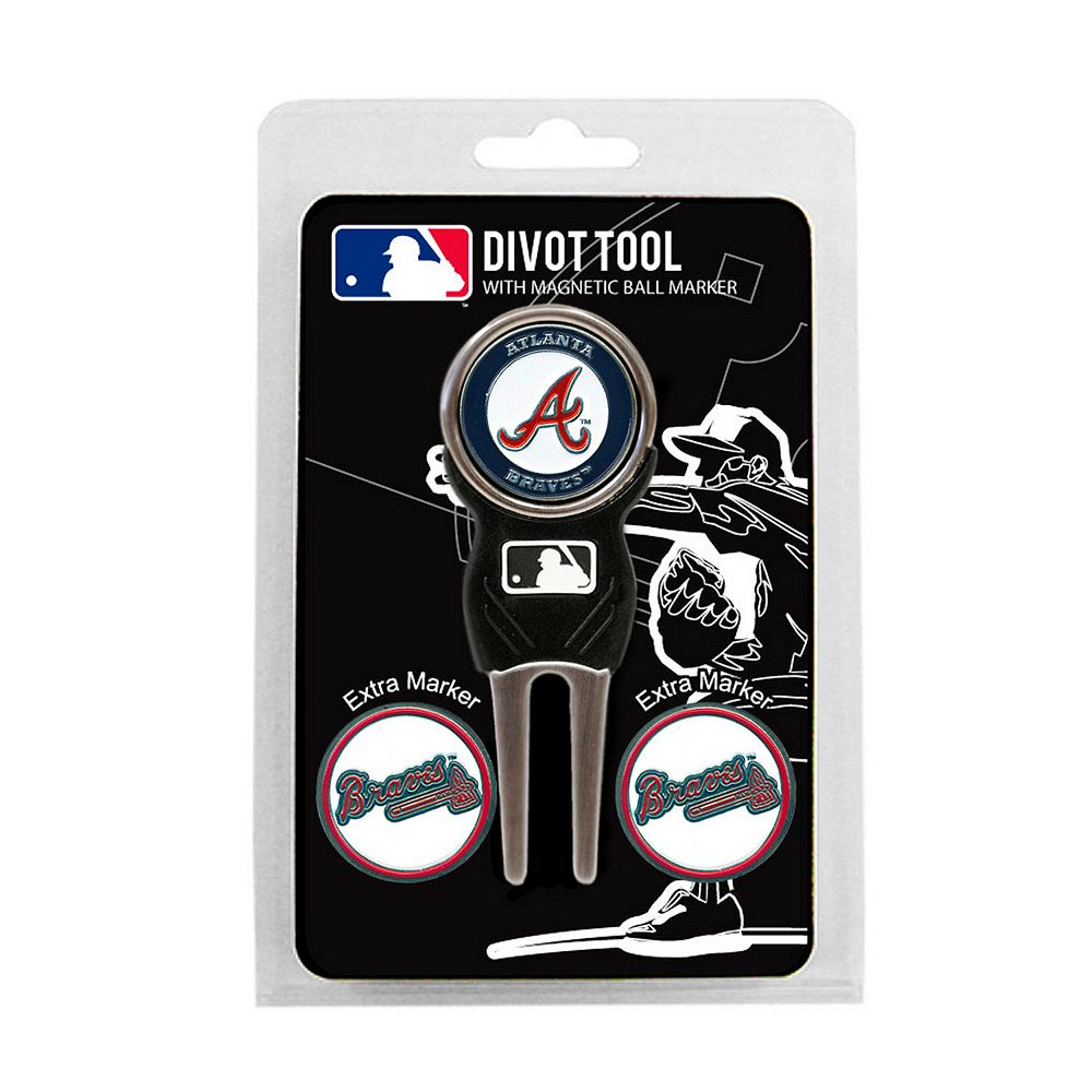 Team Golf Atlanta Braves 4-pc. Divot Tool & Ball Marker Set