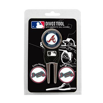 Team Golf Atlanta Braves 4-pc. Divot Tool & Ball Marker Set
