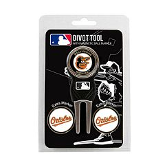 Team Golf Baltimore Orioles 4-pc. Divot Tool & Ball Marker Set