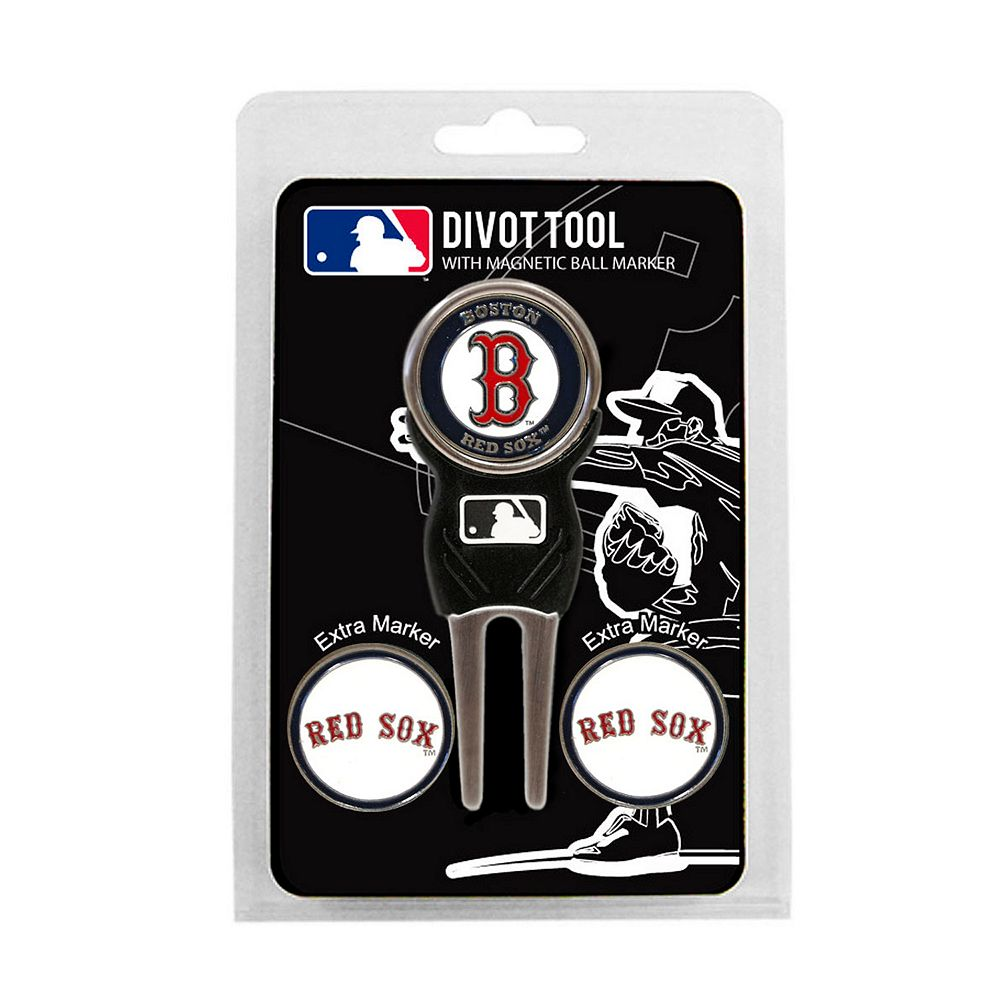 Team Golf Boston Red Sox 4-pc. Divot Tool & Ball Marker Set