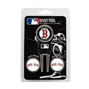 Team Golf Boston Red Sox 4 pc Divot Tool & Ball Marker Set