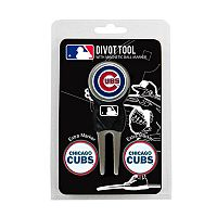 Team Golf Chicago Cubs 4-pc. Divot Tool & Ball Marker Set