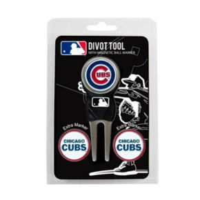 Team Golf Chicago Cubs 4-pc. Divot Tool and Ball Marker Set