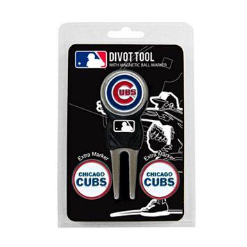 Team Golf Chicago Cubs 4-pc. Divot Tool & Ball Marker Set