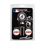 Team Golf Cleveland Indians 4 pc Divot Tool & Ball Marker Set