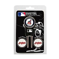 Team Golf Cleveland Indians 4-pc. Divot Tool & Ball Marker Set