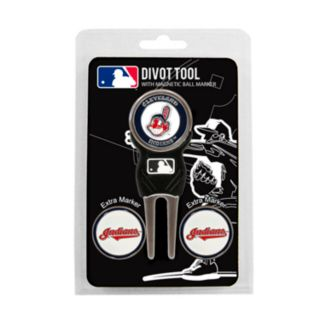 Team Golf Cleveland Indians 4-pc. Divot Tool and Ball Marker Set