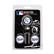 Team Golf Kansas City Royals 4 pc Divot Tool & Ball Marker Set