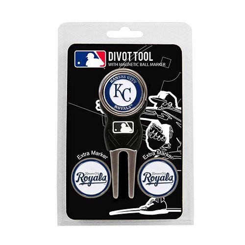 Team Golf Kansas City Royals 4-pc. Divot Tool & Ball Marker Set