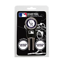 Team Golf Colorado Rockies 4 pc Divot Tool & Ball Marker Set
