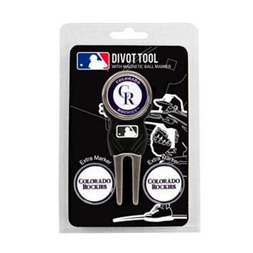 Team Golf Colorado Rockies 4-pc. Divot Tool & Ball Marker Set
