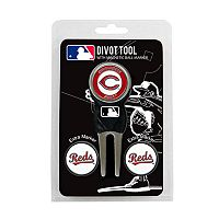 Team Golf Cincinnati Reds 4 pc Divot Tool & Ball Marker Set