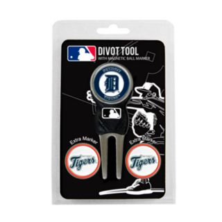 Team Golf Detroit Tigers 4-pc. Divot Tool and Ball Marker Set