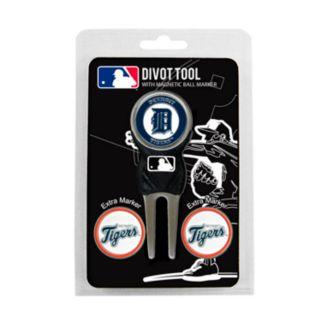 Team Golf Detroit Tigers 4-pc. Divot Tool and Ball Marker Set
