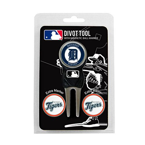Team Golf Detroit Tigers 4-pc. Divot Tool & Ball Marker Set