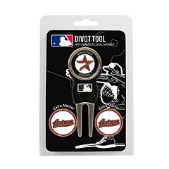 Team Golf Houston Astros 4 pc Divot Tool & Ball Marker Set