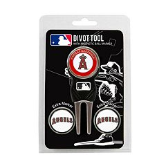 Team Golf Los Angeles Angels of Anaheim 4-pc. Divot Tool & Ball Marker Set