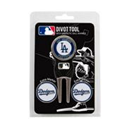 Team Golf Los Angeles Dodgers 4 pc Divot Tool & Ball Marker Set