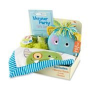 Baby Aspen Monster Party Baby Gift Set