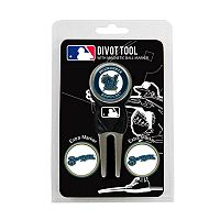 Team Golf Milwaukee Brewers 4-pc. Divot Tool & Ball Marker Set