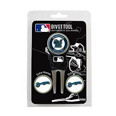 Team Golf Milwaukee Brewers 4 pc Divot Tool & Ball Marker Set