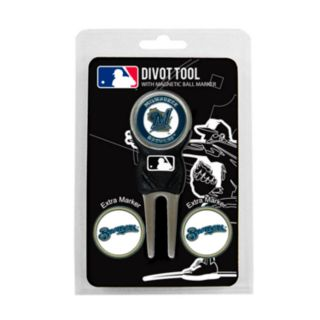 Team Golf Milwaukee Brewers 4-pc. Divot Tool and Ball Marker Set