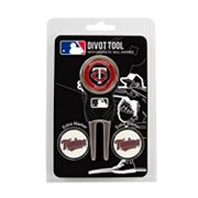 Team Golf Minnesota Twins 4 pc Divot Tool & Ball Marker Set