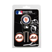 Team Golf New York Mets 4 pc Divot Tool & Ball Marker Set