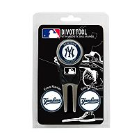 Team Golf New York Yankees 4 pc Divot Tool & Ball Marker Set
