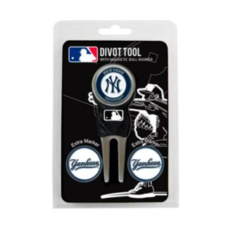 Team Golf New York Yankees 4-pc. Divot Tool and Ball Marker Set