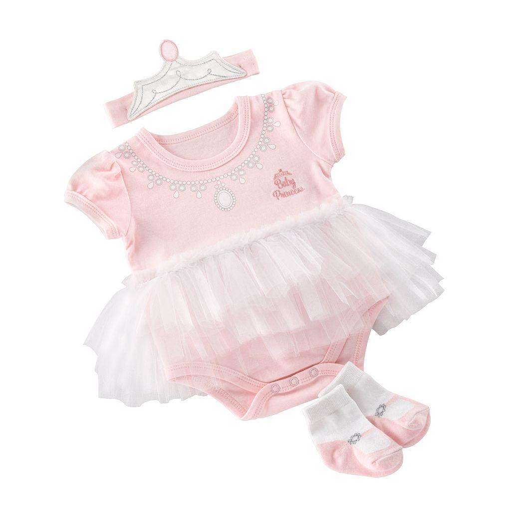 Baby Aspen Big Dreamzzz Princess Clothing Set - Baby
