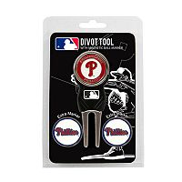 Team Golf Philadelphia Phillies 4-pc. Divot Tool & Ball Marker Set