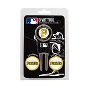 Team Golf Pittsburgh Pirates 4 pc Divot Tool & Ball Marker Set