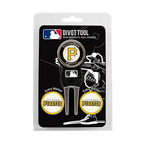 Team Golf Pittsburgh Pirates 4-pc. Divot Tool & Ball Marker Set