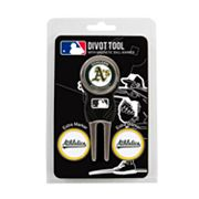 Team Golf Oakland Athletics 4-pc. Divot Tool and Ball Marker Set