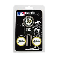 Team Golf Oakland Athletics 4 pc Divot Tool & Ball Marker Set