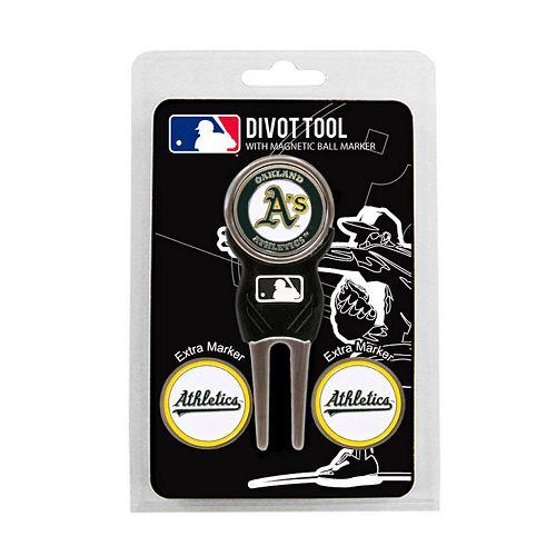Team Golf Oakland Athletics 4-pc. Divot Tool & Ball Marker Set