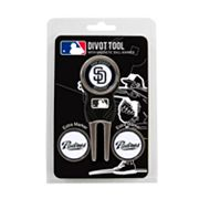 Team Golf San Diego Padres 4 pc Divot Tool & Ball Marker Set