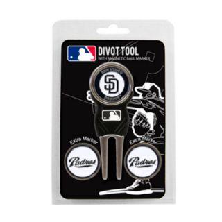 Team Golf San Diego Padres 4-pc. Divot Tool and Ball Marker Set