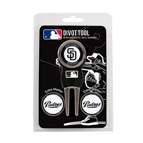 Team Golf San Diego Padres 4-pc. Divot Tool & Ball Marker Set