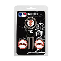 Team Golf San Francisco Giants 4-pc. Divot Tool & Ball Marker Set