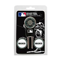 Team Golf Seattle Mariners 4 pc Divot Tool & Ball Marker Set