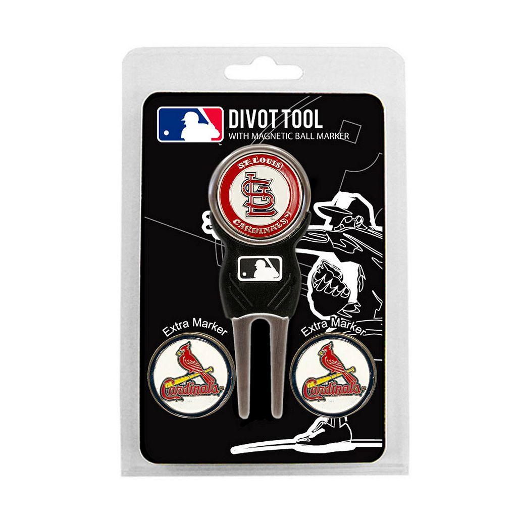 Team Golf St. Louis Cardinals 4-pc. Divot Tool & Ball Marker Set