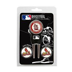 Team Golf St. Louis Cardinals 4-pc. Divot Tool & Ball Marker Set