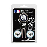 Team Golf Tampa Bay Rays 4 pc Divot Tool & Ball Marker Set