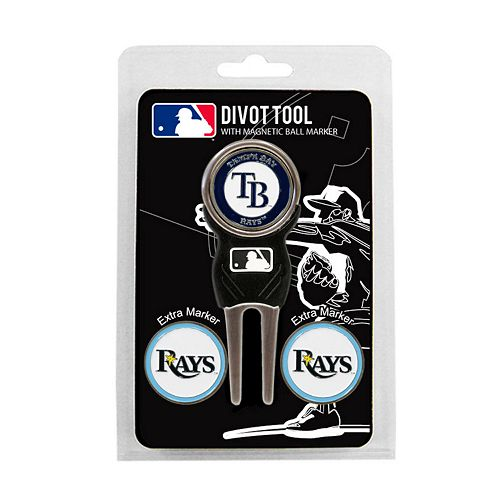 Team Golf Tampa Bay Rays 4-pc. Divot Tool & Ball Marker Set