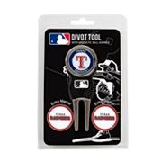Team Golf Texas Rangers 4 pc Divot Tool & Ball Marker Set