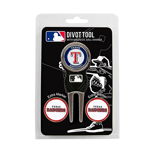 Team Golf Texas Rangers 4-pc. Divot Tool & Ball Marker Set