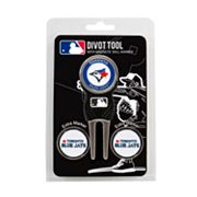 Team Golf Toronto Blue Jays 4 pc Divot Tool & Ball Marker Set